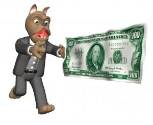 Greedy dogs!