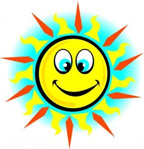 Sun smiling 21469555