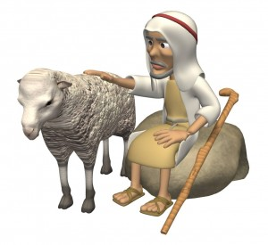 Shepherd w- Sheep 33398033