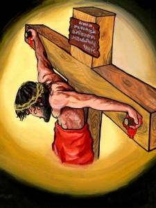 Cross, hanging on 16957854