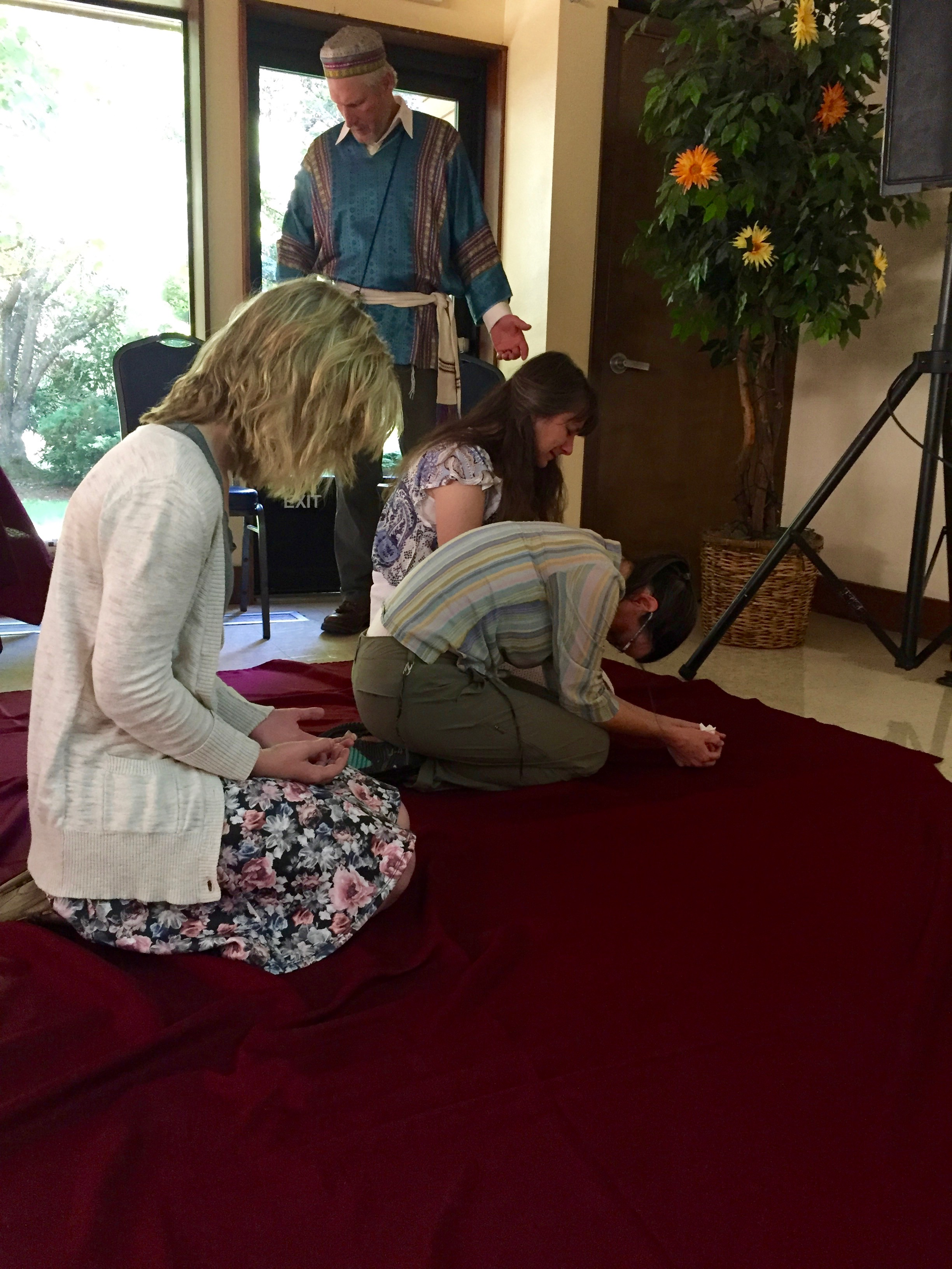Seeking the face of YHVH through prayer