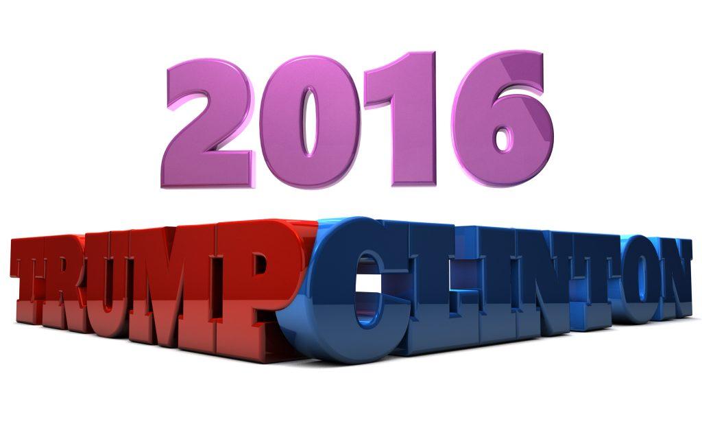 2016 Donald Trump Hillary Clinton