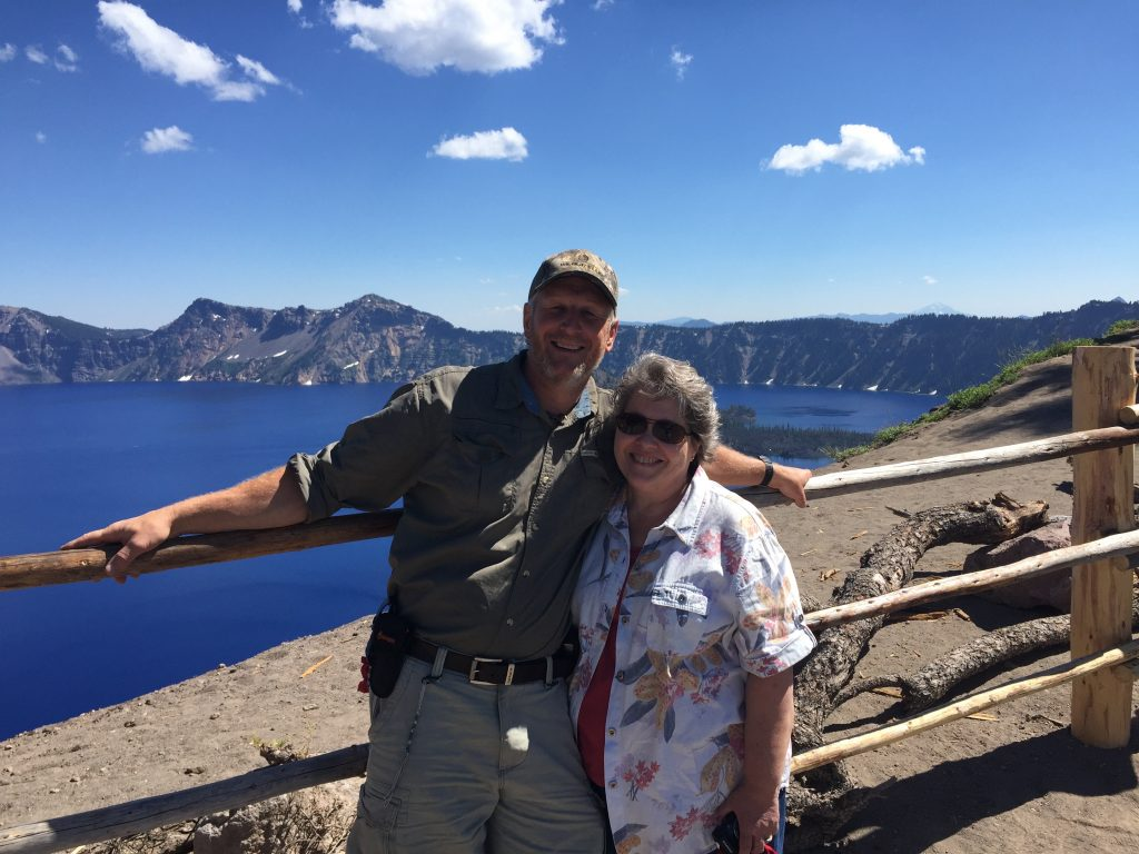 We made a quick trip to nearby Crater Lake National Park.