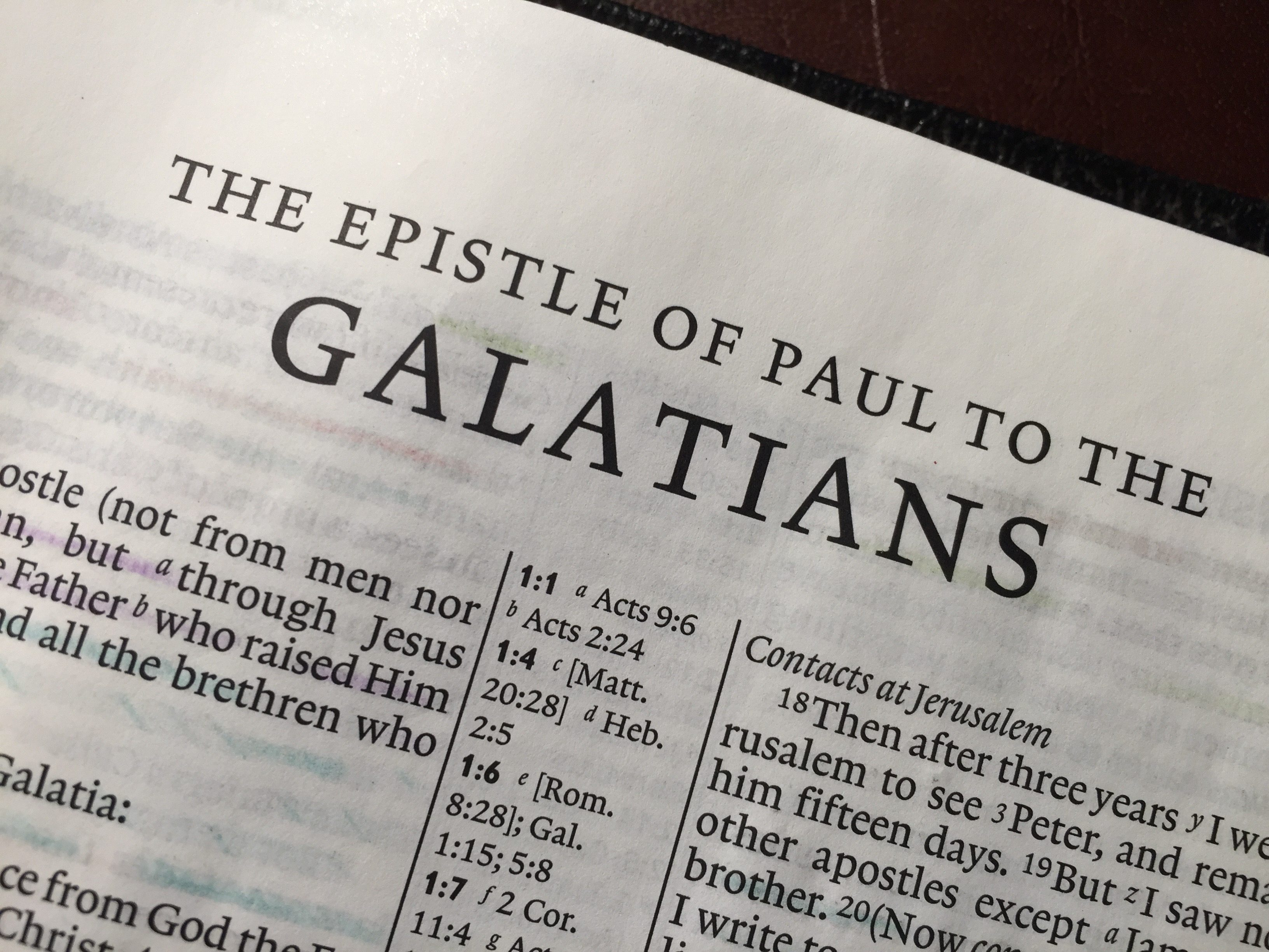 Galatians Explained Simply from a Hebraic Perspective Pt 1
